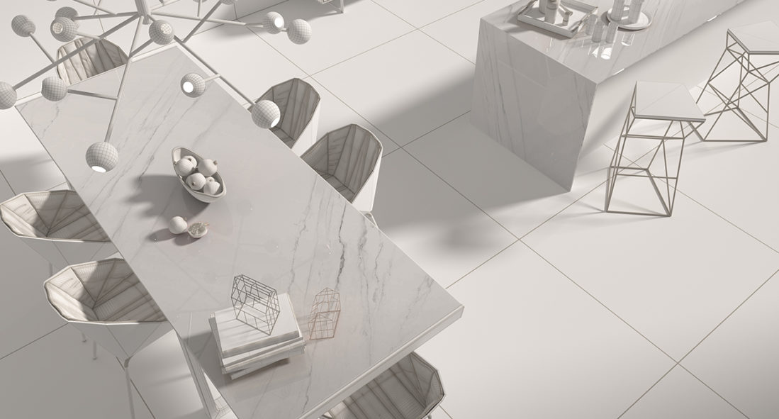 AMBIENTES 3D PARA STRUKER PORCELÁNICO